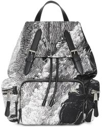 Burberry - The Medium Rucksack In Dreamscape Print - Lyst
