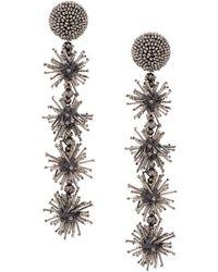 Sachin & Babi - Long Beaded Earrings - Lyst