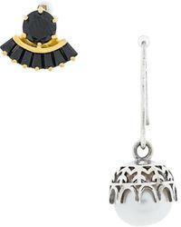 Iosselliani Puro Pearl Earrings - Metallic