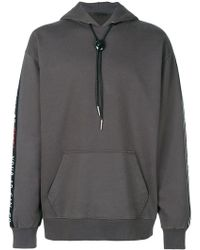 Alexander Wang - Your Ad Can Go Here Panel Hoodie - Lyst