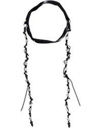Ann Demeulemeester - Beaded Wrap-around Necklace - Lyst