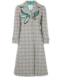 Marco De Vincenzo - Prince Of Wales Check Coat - Lyst