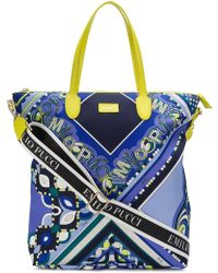 f15bbb352b4a Emilio Pucci - Abstract Print Tote Bag - Lyst