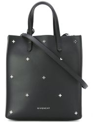 Givenchy - Stargate Leather Shopping Tote  - Lyst