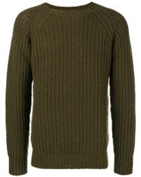 Officine Generale - Knitted Jumper - Lyst