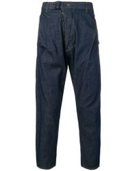 Vivienne Westwood Anglomania - Drop Crotch Jeans - Lyst