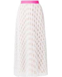 Vivetta - Pleated Midi Skirt - Lyst