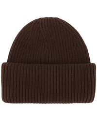 Golden Goose Deluxe Brand - Ribbed Knit Beanie - Lyst