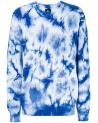 Stussy - Gradient Long-sleeve Sweatshirt - Lyst