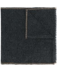 Eleventy - Patterned Distressed Scarf - Lyst