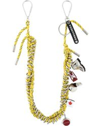DSquared² - Cord Charm Necklace - Lyst