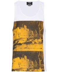 CALVIN KLEIN 205W39NYC - X Andy Warhol Foundation Car Crash Tank Top - Lyst