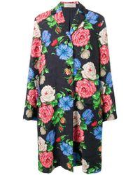 Nina Ricci - Floral Brocade Coat - Lyst