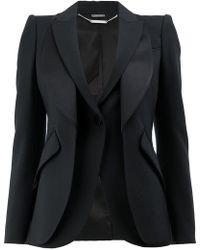 Alexander McQueen | Double Layered Blazer | Lyst