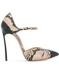 Casadei - Blade Mary-jane Court Shoes - Lyst