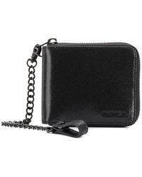 DIESEL - Hiresh S Small Zipped Wallet - Lyst