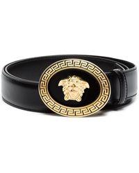 Versace Riem Met Gesp - Zwart