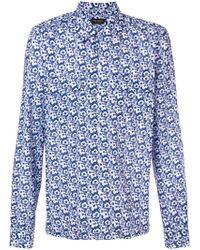 Dell'Oglio - Floral-print Shirt - Lyst