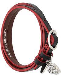 Alexander McQueen - Double Wrap Bracelet - Lyst