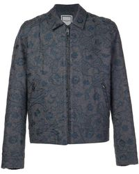 Wooyoungmi - Embroidered Zipped Jacket - Lyst