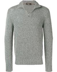 Loro Piana - Pullover mit Reißverschluss - Lyst