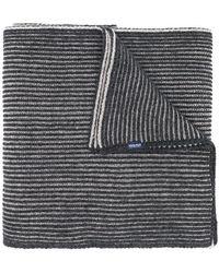 Woolrich - Stripe Pattern Scarf - Lyst