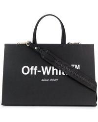 Off-White c/o Virgil Abloh - Logo Box Bag - Lyst