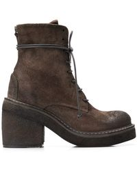 Marsèll - Lace-up Chunky Sole Boots - Lyst