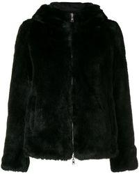 Colmar - Hooded Fur Coat - Lyst