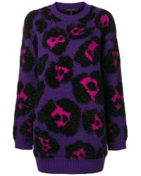 Marc Jacobs - Fluffy Knit Sweater - Lyst