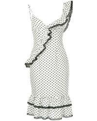 Suboo - Frilled Midi Dress - Lyst