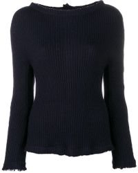 Roberto Collina - Ribbed Jumper - Lyst