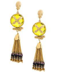Gas Bijoux - Beaded Tassel Earrings - Lyst
