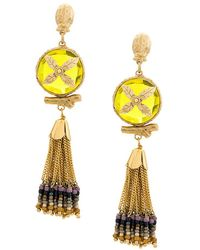 Gas Bijoux - Beaded Tassel Earrings - Lyst