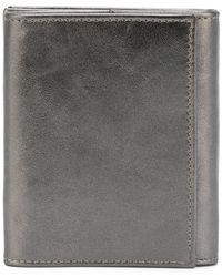 Ann Demeulemeester - Metallic (grey) Effect Wallet - Lyst