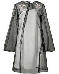 ADEAM - Asymmetrical A-line Mini Dress - Lyst