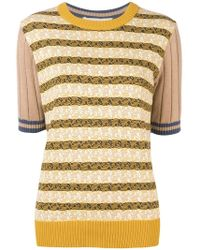 Marni - Patterned Knit Top - Lyst