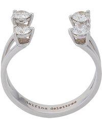 Delfina Delettrez - Dots Diamond Ring - Lyst