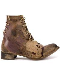 Cherevichkiotvichki - Lace-up Ankle Boots - Lyst
