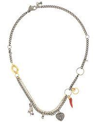 Iosselliani - Puro Heart Necklace - Lyst