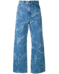 Sonia by Sonia Rykiel | High-rise Cropped Flared Jeans | Lyst