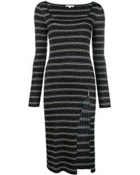 Patrizia Pepe - Knit Fitted Dress - Lyst