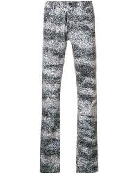KENZO - Splash Print Skinny-fit Jeans - Lyst