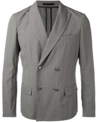 Paolo Pecora - Double Breasted Jacket - Lyst