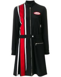 Moschino - Racer Car Striped Dress - Lyst