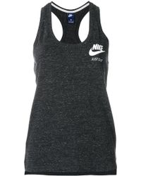 Nike - Logo Print Tank Top - Lyst