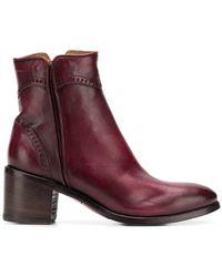 Alberto Fasciani - Windy Heeled Ankle Boots - Lyst