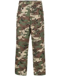 Hysteric Glamour - Camouflage Trousers - Lyst