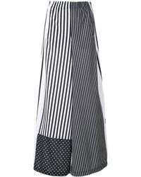 adidas Striped Wide-leg Track Trousers