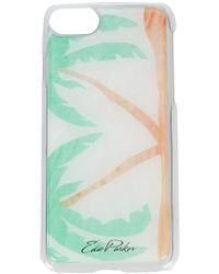 Edie Parker - Palm Trees Iphone 6, 6s And 7 Case - Lyst